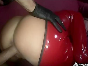 Blonde whore Diana Doll gets her vulva hotly munched and fucked