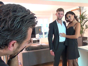 Hot shagging affair with alluring brunette Anna Polina