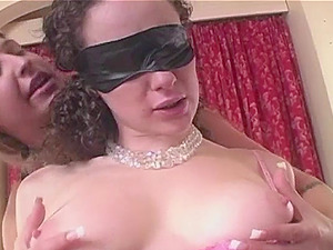 Handcuffed Lesbian Slave Gets Royal Treatment
