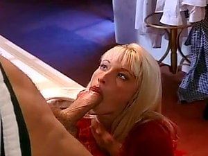 Insatiable Blonde Tart VixXxen Banged by Rocco Siffredi in Retro Pornography Clip