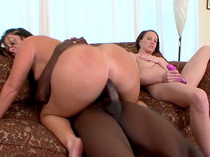 Danica is a nasty babe who cannot resist a black man's cock