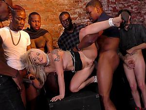 gangbang black men
