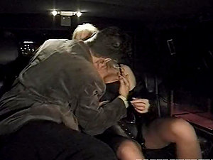 Rocco fucks Silvia Saint in the car and makes her suck his man rod afterwards