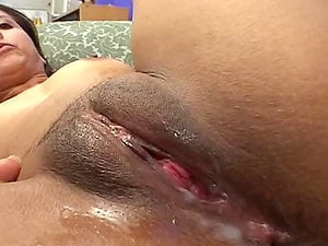 Sexy Indian Stunner Gets a Internal cumshot in Dual Team MMF Threesome