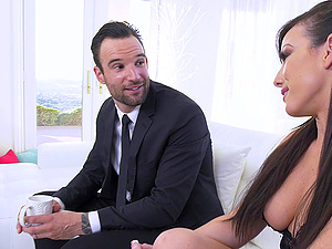 Jennifer White is a nasty hottie who sleeps with a man who is not hers