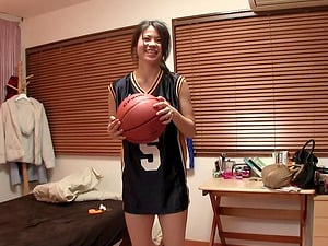 Cute Susan Yurika having steamy sex after her basketball game