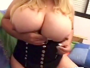 lusty mature with natural tits & nice nipples