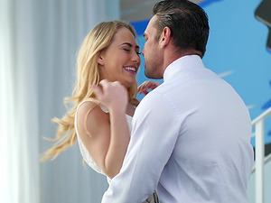 Pretty Carter Cruise craves for a big load of monster dick