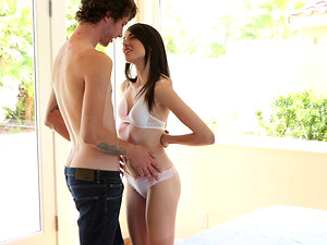 Lucky guy finally gets to fuck Emily Grey while she moans loudly