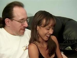 Horny guy finally gets to fuck hot Mariah Milano while she moans