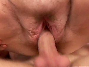 Massive fat cougar Dillon gets fucked rear end style
