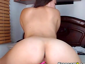 Hot girlfriend goes deep and hard having sex with her  boyfriend.