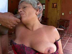 Big black dick is enough to pleasure mature babe Marcela
