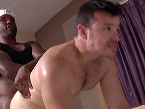 One of the things he likes the most is getting fucked by a black guy