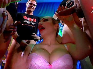 One long dick can't please Chessie Kay and her friend anymore