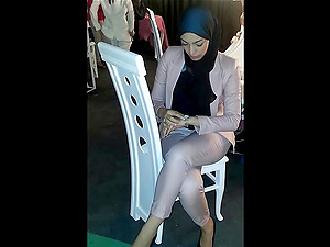 Turkish young women in hijab for you