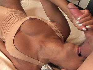 Good looking Florence Dolce gets surprised with a delicious dick