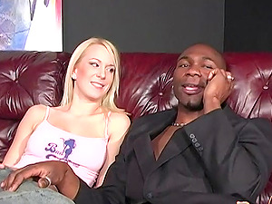 Nothing pleases Cindy Sterling and her friend like sharing a black dick