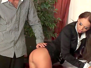 Anal Sex For This Tight Assed Secretary