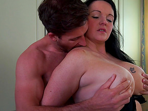 Nothing makes Devon Breeze happy like playing with a delicious dick