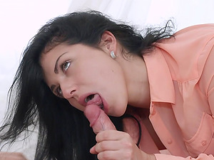 Raven Haired Jessica Lincoln Ass Fucked