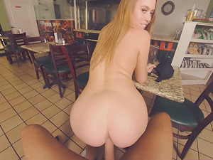 Waitress Jill Kassidy getting fucked