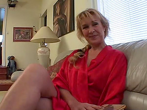 Dirty Old Cougar Gets Cocked.