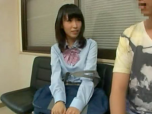Teenage Japanese Model Pays a Sexy Vistit to Her Gynecology