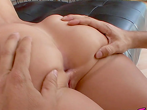 Teen Daisy Dalton rides big old dick
