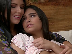 Don't miss Romi Rain and Violet Starr eating each other out