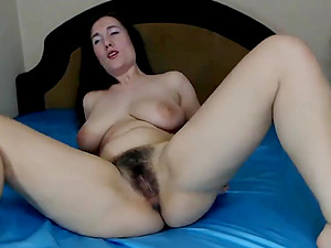 Hairy Ukranian Girl Fucks Her Sweet Beaver With Her Toy