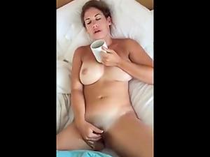 Wake up babe masturbate and make me cum at same time