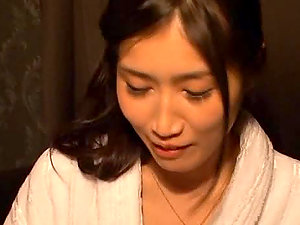 Japanese lesbos finger each other's hairy vulvas timidly