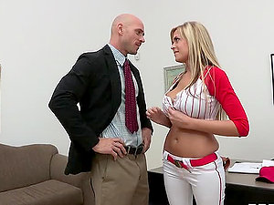 Sexy Baseball Player Has Her Raise Fucked Up