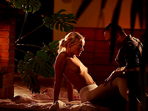 Blonde MILF vixen Victoria Pure pounded hardcore by a well hung dude
