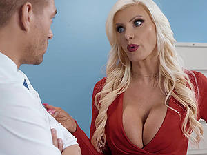 Busty Brittany Andrews Fucking Hard Core in Doggystyle With Sexy Blowjob