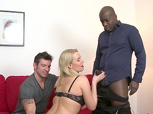 Cuck Helps Wife Nikky Dream Take a BBC