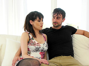 This horny group with hot girl Audrey Noir want to reach perfect orgasm