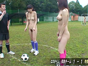 Japanese Soccer Teens Relax With Sex After Game