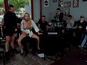 A slave role and humiliation is fantastic experience for Isabella Clark