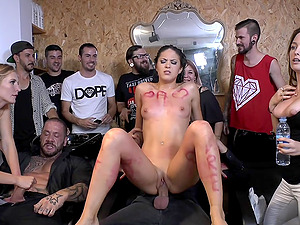 Mona Wales goes thru public torture and humiliation on video