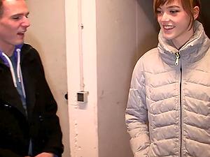 german skinny teen public creampie