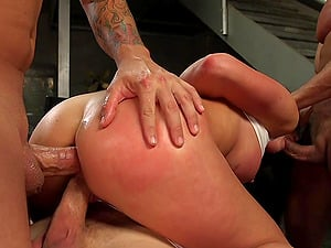 Brutal humiliation and torture session with slut Virginia Tunnels