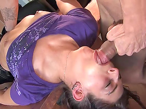 facial and cum in mouth are things that Lady Angelique loves so much