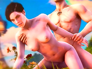 Sexy Witcher babes enjoying getting theri pussies and mouths fucked