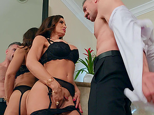 hard and clothed fuck is something that Lisa Ann loves more than anything