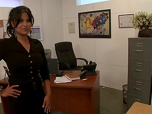 dirty teacher Sophia Lomeli wants to get fucked by a guy in the classroom