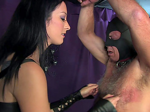 Slave Squirrel Balls wants to punish her lover with hard fuck