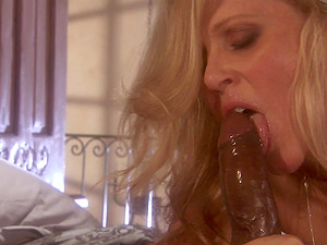 only black and massive penis can satisfy this horny girl Julia Ann
