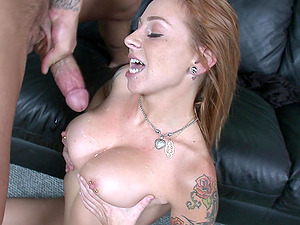 Scarlett Pain has perfect moves and doggy style is her favorite pose